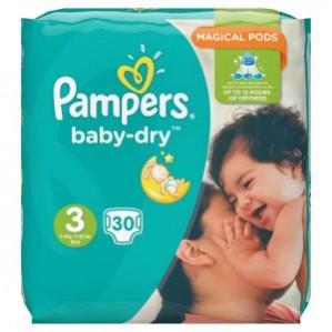 2 Pakken Pampers voor €10