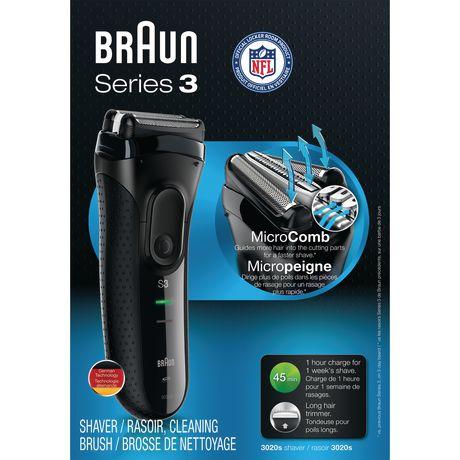 Braun series 3 scheerapparaat - 310s wet&dry blauw voor €27,99