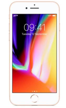 Apple iPhone 8 - 64GB - Goud voor €654,90 dmv code