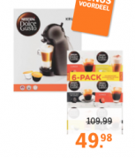 Koffie voor Senseo, Dolce Gusto 1+1 gratis