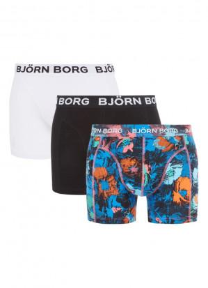 3-pack Bjorn Borg boxers voor €27,99