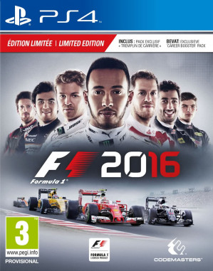 F1 2016 - Limited Edition - PS4 voor €9,95