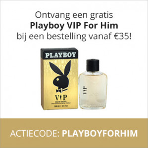 Gratis Playboy For Him parfum bij je bestelling