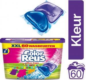 Color Reus Duo-Caps - Voordeelverpakking - 60 wasbeurten - wasmiddel voor €8,99