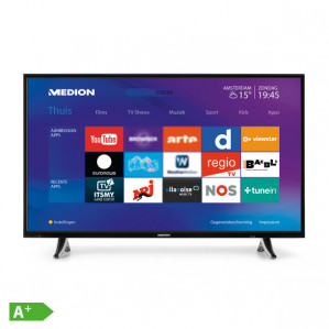 Medion 49 inch 4k smart tv voor €399