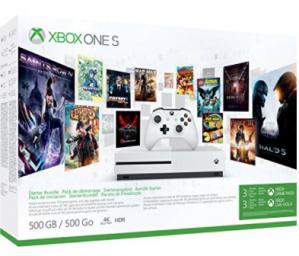 Xbox One S 500GB Konsole - start bundel inc. 3 maanden Xbox Game Pass voor €169,99