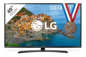 LG 49UJ635V 4K Ultra HD Smart TV  voor €529