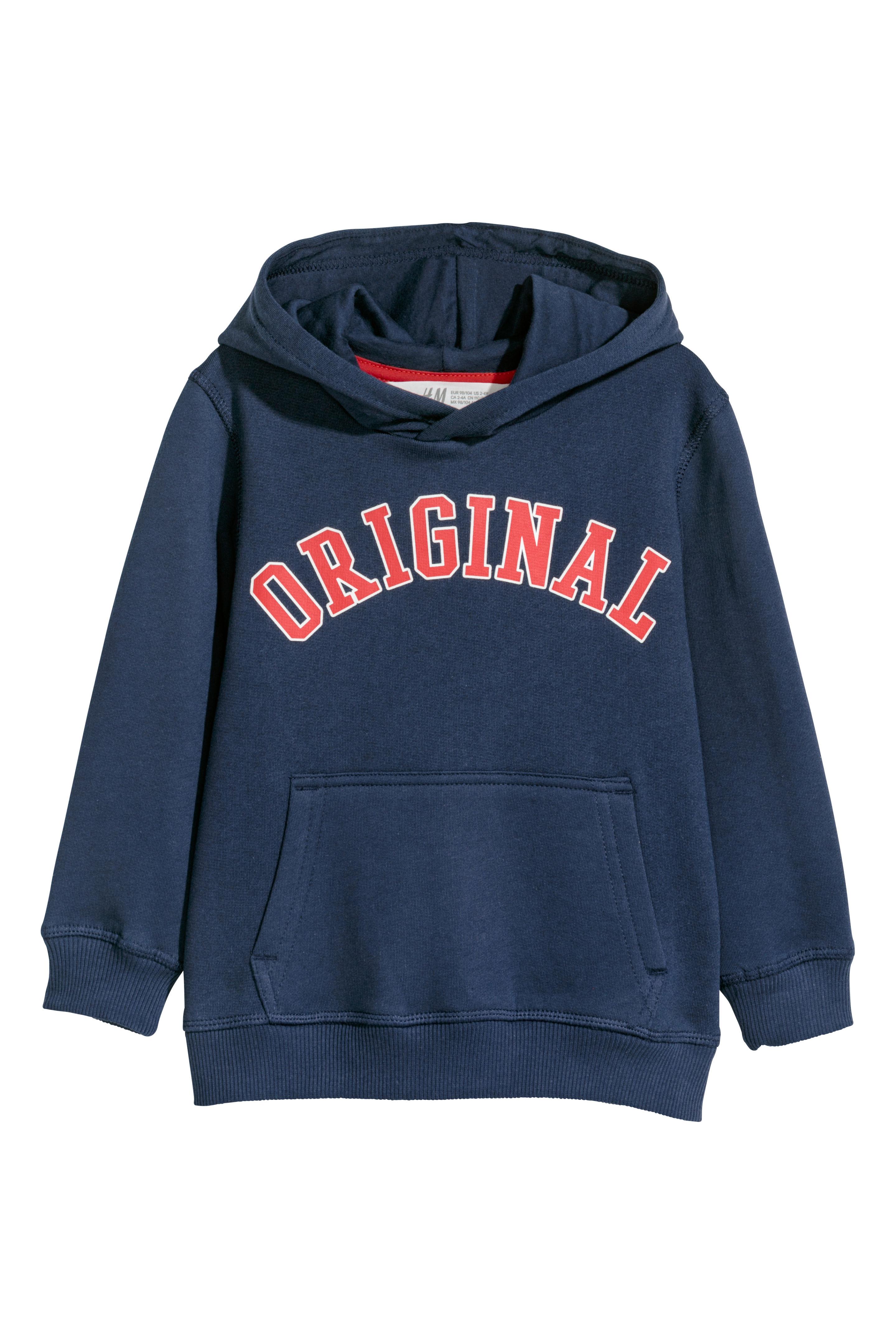 Sweater met capuchon voor €4,99