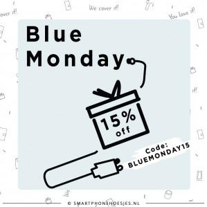 Kortingscode Smartphonehoesjes voor 15% korting op Bluemonday