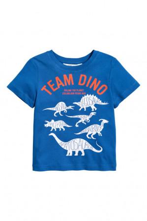 T-shirt met print voor €0,99