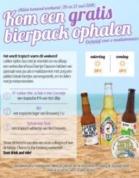 3- Pack bier Gratis