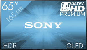 Sony KD-65A1 - 4K tv voor €2.799