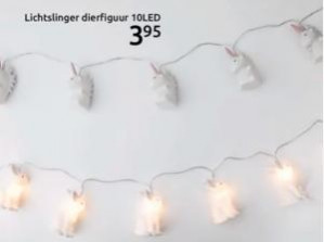 Lichtsnoer dierfiguur voor €3,95