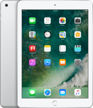 "Apple ipad 9.7"" (2017) 32GB Wifi Tablet - Wit Zilver voor €359"
