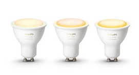 Philips hue White Ambiance GU10 Led Spot 3-pak voor €54,99
