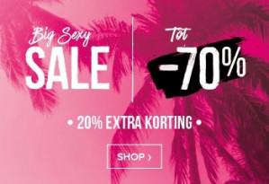 20% extra korting op de sale bij Hunkemöller