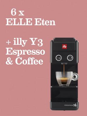 Abonnement 6x ELLE Eten + illy koffiemachine voor €49,95