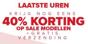 Crocs sale met 40% extra korting en gratis verzending