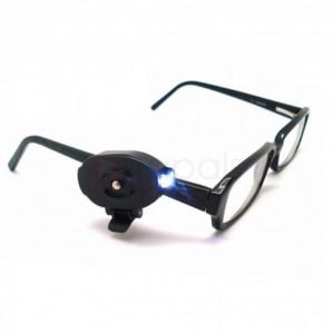 Universele Mini Handsfree Clip-on LED-lamp voor brillen voor €0,60 dmv code