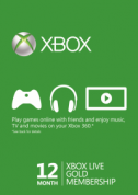 12 Month Xbox Live Gold Membership voor €22,79