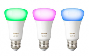 Philips Hue - Nieuw: White and Color Ambiance- E27 - triopack voor