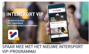 Ontvang €5 starttegoed bij Intersport