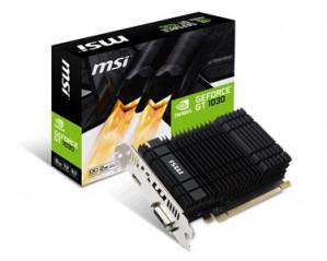 MSI GeForce GT 1030 2GH OC - 2GB voor €79