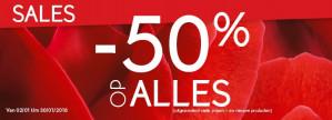 -50% korting op alles bij Yves Rocher
