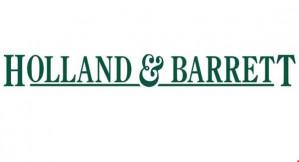Ontvang 4 dubbele spaarpunten bij Holland&Barrett dmv code