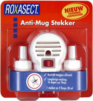 Roxasect Anti-Mug Stekker Actieverpakking voor €6,99