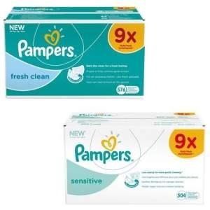 Pampers billendoekjes 2 multipakken voor €25