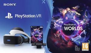 Sony PlayStation VR Worlds Pakket + camera - PS4 voor €239