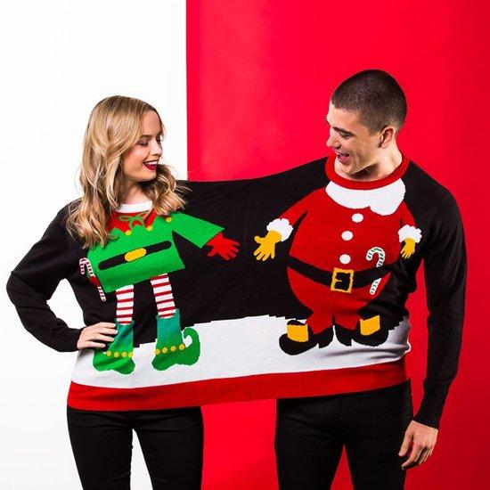 Foute Kersttrui C En A.Foute Kersttrui Voor 2 Personen