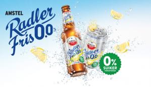 Gratis Amstel Radler Fris 0.0% dmv cashback ipv 3,99 euro