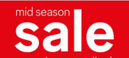 C&A Mid Season Sale tot -50% korting