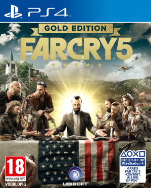 Far Cry 5 - Gold Edition - PS4/Xbox voor €55,99