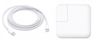 Apple 29 watt USB-C snellader inclusief usb-c lightning cable voor €35