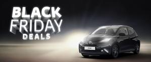 Vooraankondiging Black friday Private lease toyota aygo voor €99