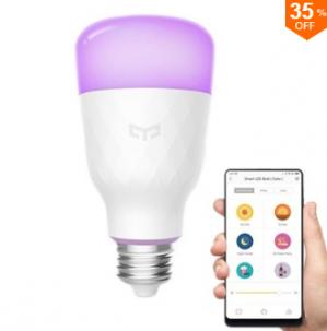 Xiaomi Yeelight YLDP06YL E27 10W RGBW Smart LED Bulb Wifi App Control voor €15,49 dmv code