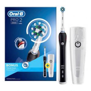 Oral-B PRO 2 2500 Elektrische tandenborstel met gratis kindertandenborstel voor €47,50