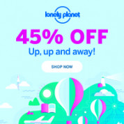 Lonely Planet sale met 45% korting
