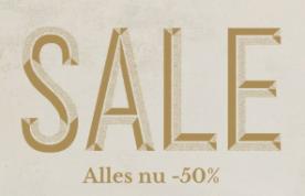 Scotch & Soda sale met 50% korting