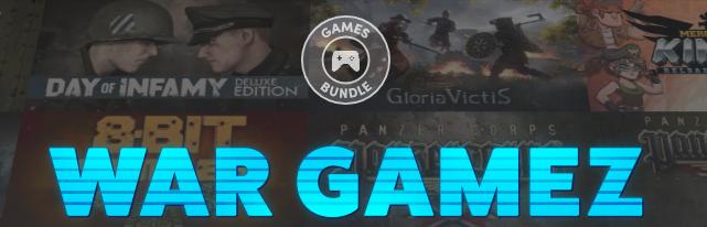 Humble Bundle War Gamez Bundle vanaf €0,85