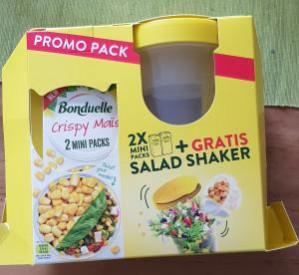 Bij aankoop van Bonduelle promopack Salad Shaker Gratis
