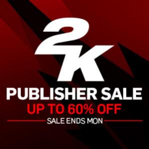 Publisher Sale 2K Games tot 60% korting