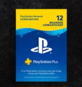 Black Friday deal 12 maanden Playstation Plus voor €39,99