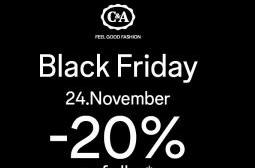 Black Friday bij C&A met 20% korting