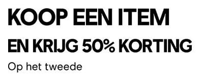Tweede game 50% korting