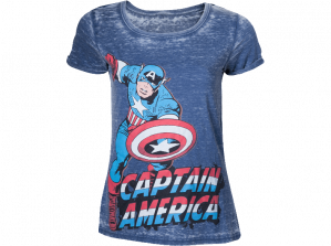 Heren T-shirt - Captain America voor €4,97