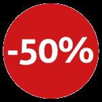50% korting op diverse verzorgingsproducten- merk geuren en meer